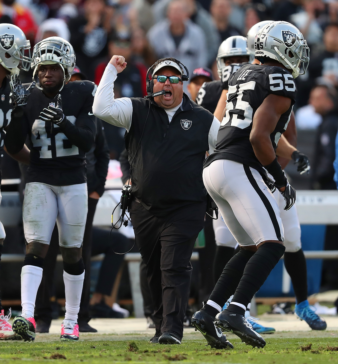 Inside the Raiders: Sorry Raider Nation, firing Paul Guenther isn't a solution