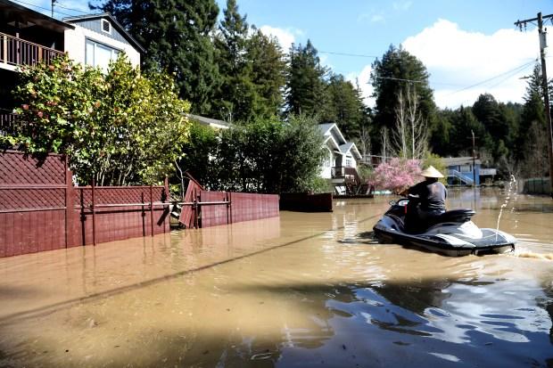 Worst I've seen': Guerneville assesses flood damage