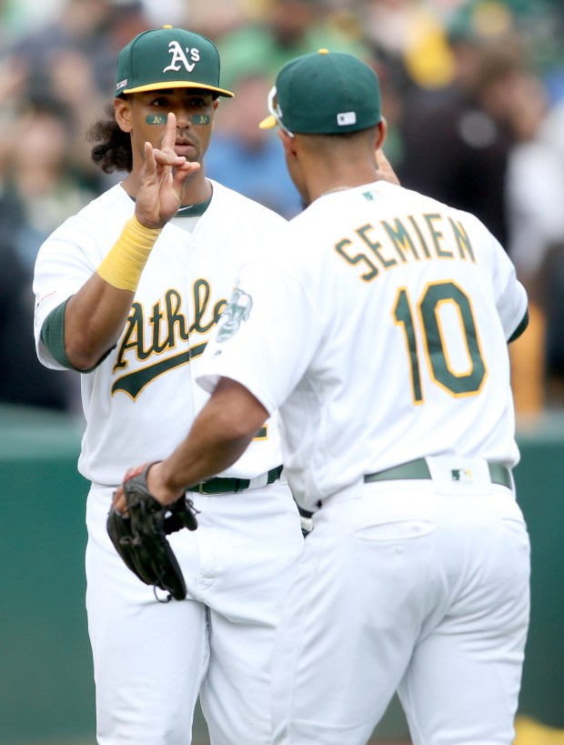 Athletics players hope Khris Davis contract signifies new philosophy
