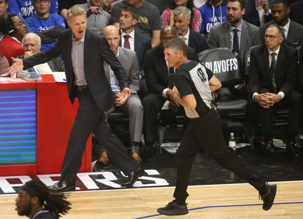Warriors: Why Steve Kerr sees tight officiating as an advantage