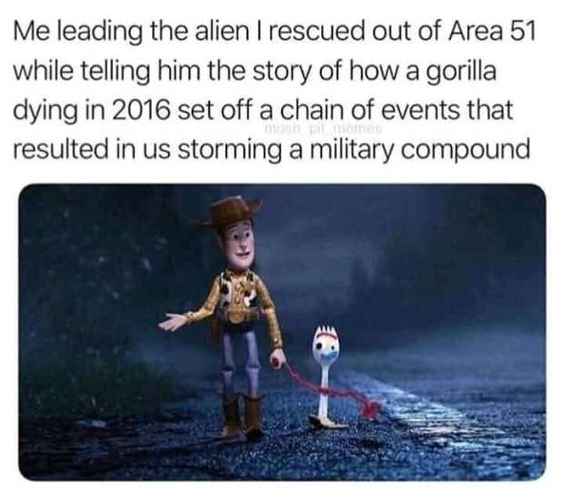25 Best Funny Area 51 Memes Area 51 Really Funny Pictures Very