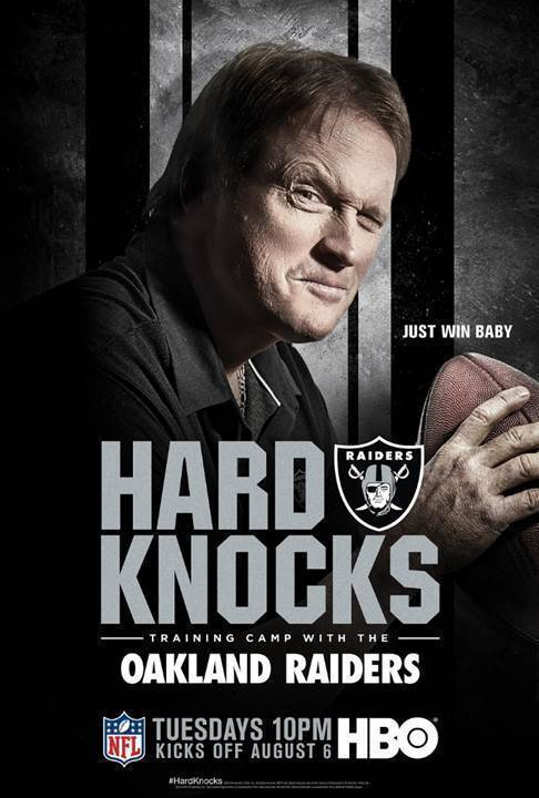 62549ced Oakland Raiders are the stars of HBO's latest 'Hard Knocks'