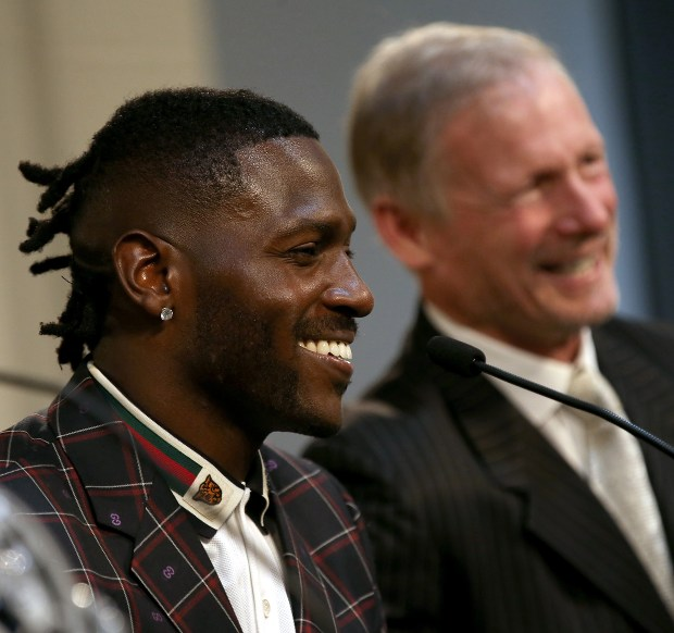 Why the Raiders should cut Antonio Brown