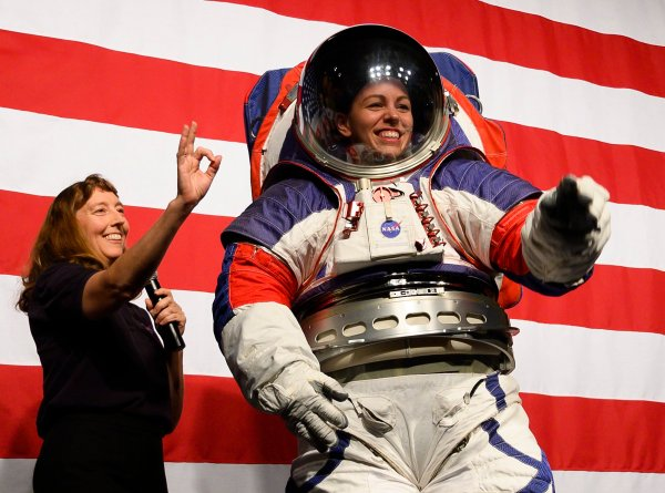 NASA shows off some pretty fly new space suits