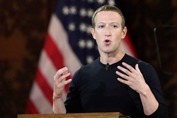 Mark Zuckerberg insists Facebook supports more free speech, not less