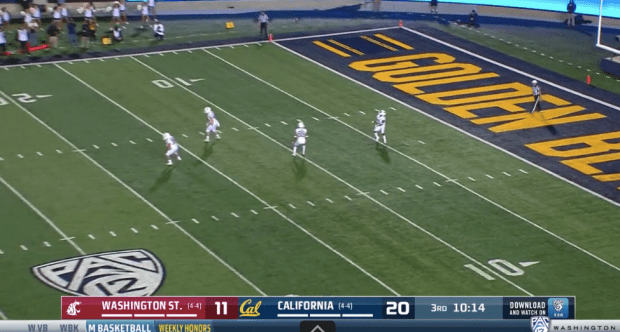 Pac-12's explanation of the officiating gaffe in Cal-Washington State requires ... further explanation