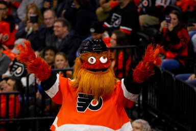 Flyers' mascot Gritty under investigation for assault