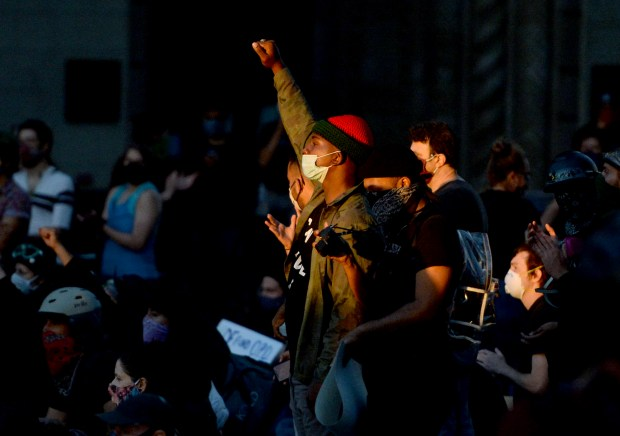 Photos: A look back at Bay Area protests after George Floyd's death 17