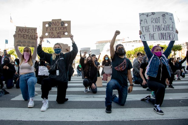 Photos: A look back at Bay Area protests after George Floyd's death 7