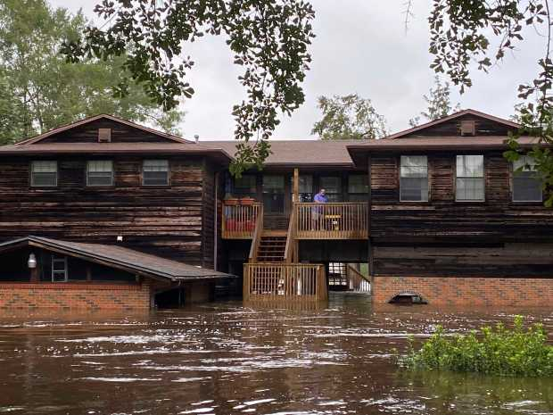 Hurricane Sally: Rescuers reach Gulf Coast residents cut off by storm