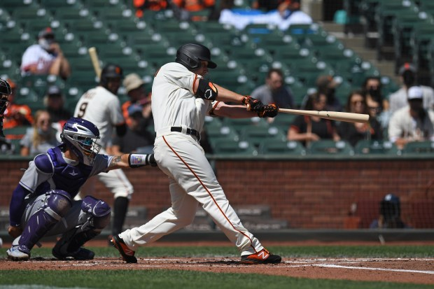 SF Giants cruise to sweep of Rockies, Anthony DeSclafani keys team's first shutout since 2019