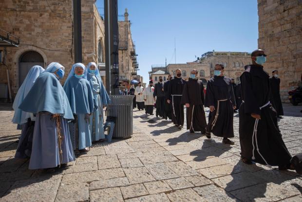 Virus Outbreak Israel Easter Sunday 95094 1
