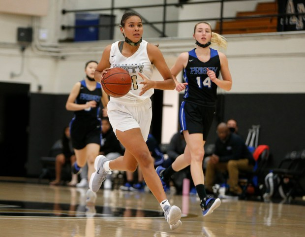 CCS basketball: Mitty topples Priory to reach another girls Open Division final 2
