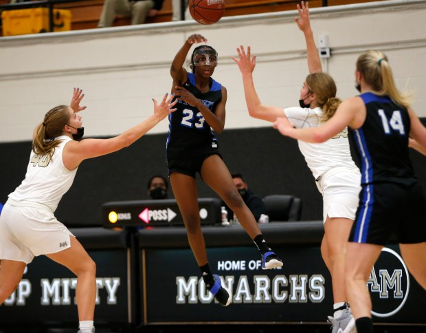 CCS basketball: Mitty topples Priory to reach another girls Open Division final 9