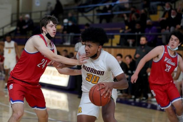Prep basketball: Riordan advances to CCS Open final in wild finish over St. Ignatius 9