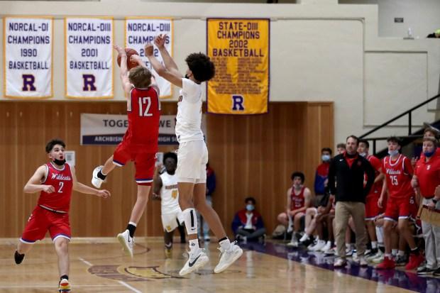 Prep basketball: Riordan advances to CCS Open final in wild finish over St. Ignatius 11