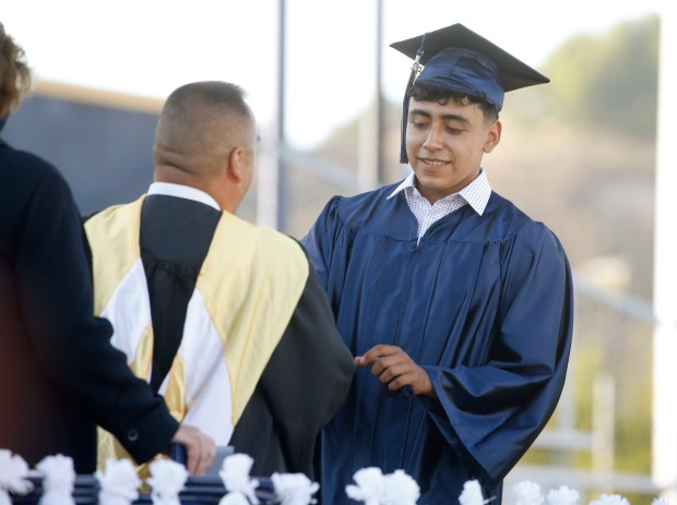 Photos: Leland High School honors their Class of 2021 with two socially distanced graduation ceremonies 12