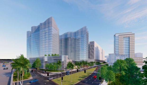 Single family homes to be razed for a pair of 20-story downtown San Jose office towers 2