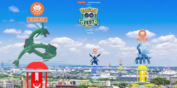 Pokemon Go Fest 2021 Day 2
