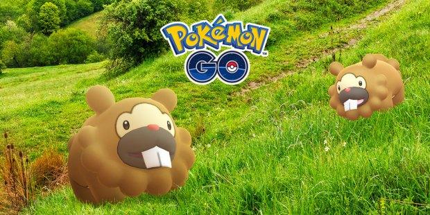 Bidoof Breakout in 'Pokemon Go'