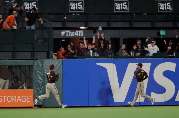 Photos: San Francisco Giants beat San Diego Padres 9-1 to secure first postseason berth since 2016