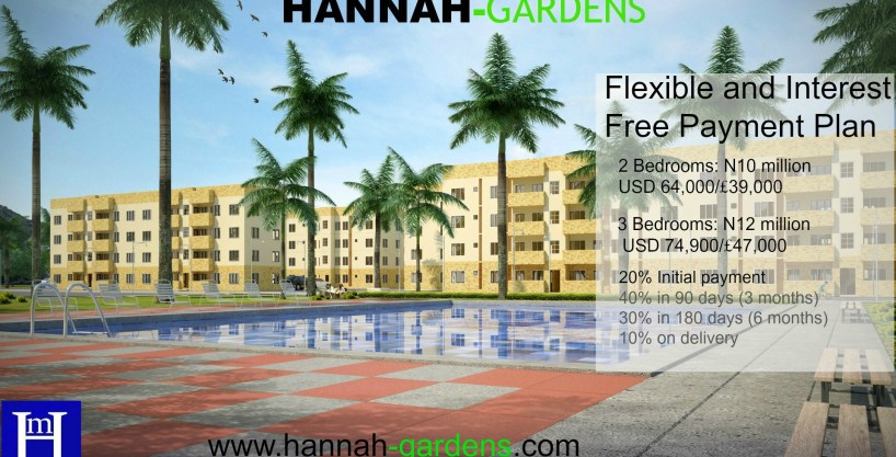 Hannah-Gardens Beach Front. 3 Bed Apartment, Badagry, Nigeria