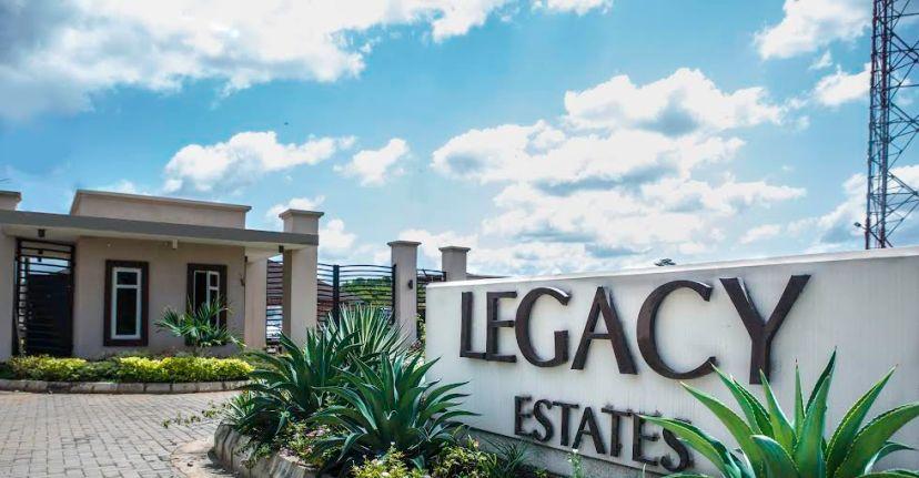 Legacy Estate in the posh Akobo GRA IBADAN