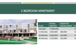 Summer Bargain 2 bedroom Apartment in Lekki for just N12 million only!
