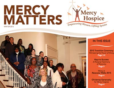 Mercy Matters Winter newsletter now available