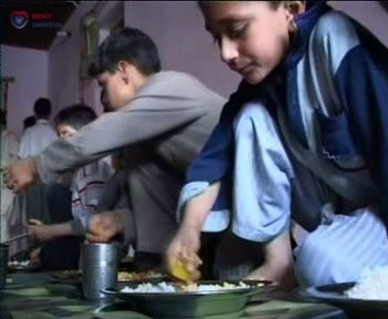 Food Served At Orphanages
