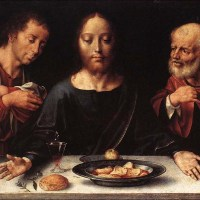 """""""As open as the outstretched arms of Christ on the cross"""" - Jürgen Moltmann on The Lord's Supper"""