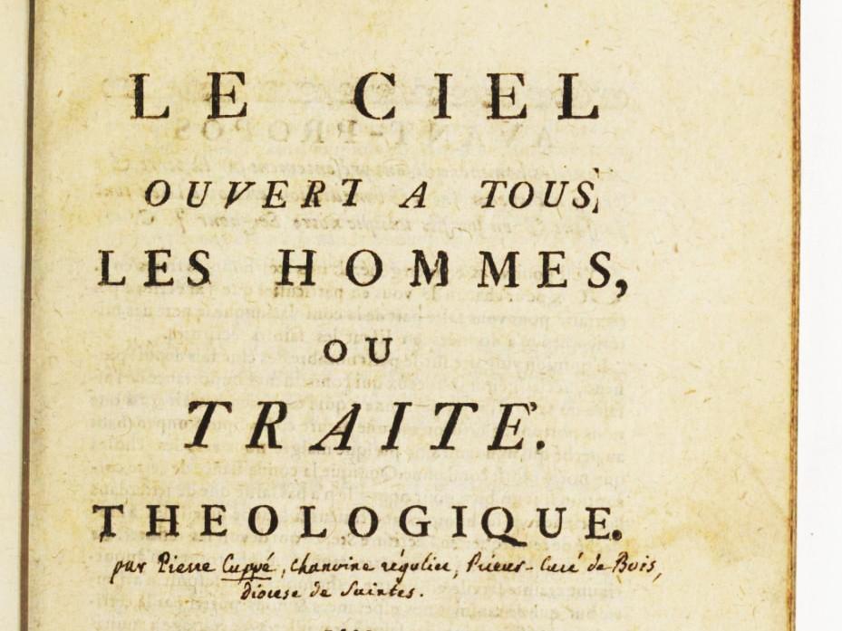 Pierre Cuppe: Heaven Open to All Men (1743)