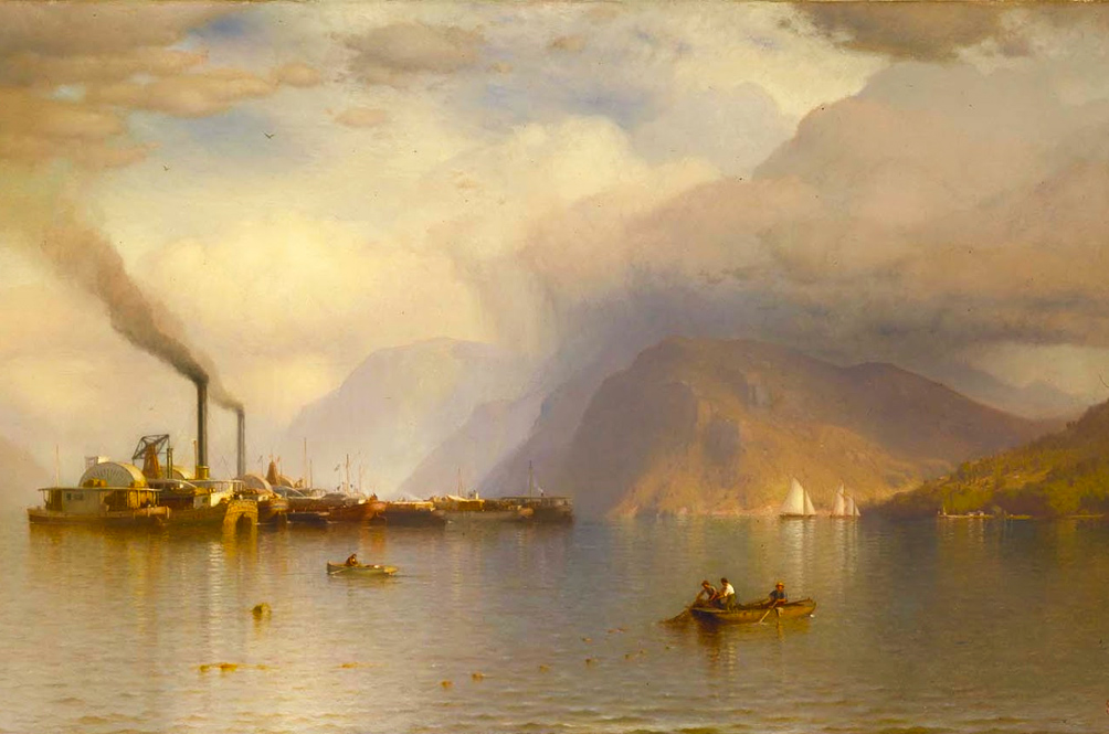 The boundless landscapes of the Hudson River School