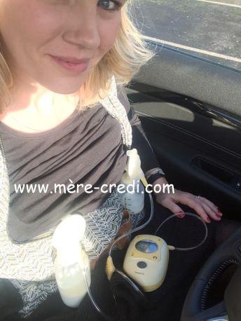allaitement et travail allaitement et reprise du travail. tire lait électrique FreeStyle Medela