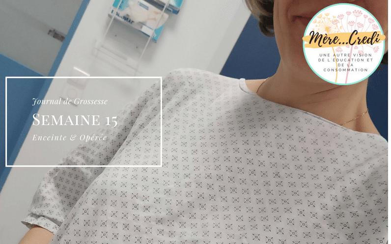 enceinte grossesse opération chirurgicale appendicite