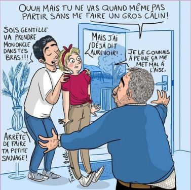 Fanny vella illustre le consentement et le respect des choix de l'enfant