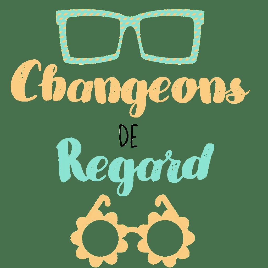 logo où l'on change de paire de lunettes pour changer de regard sur la situation