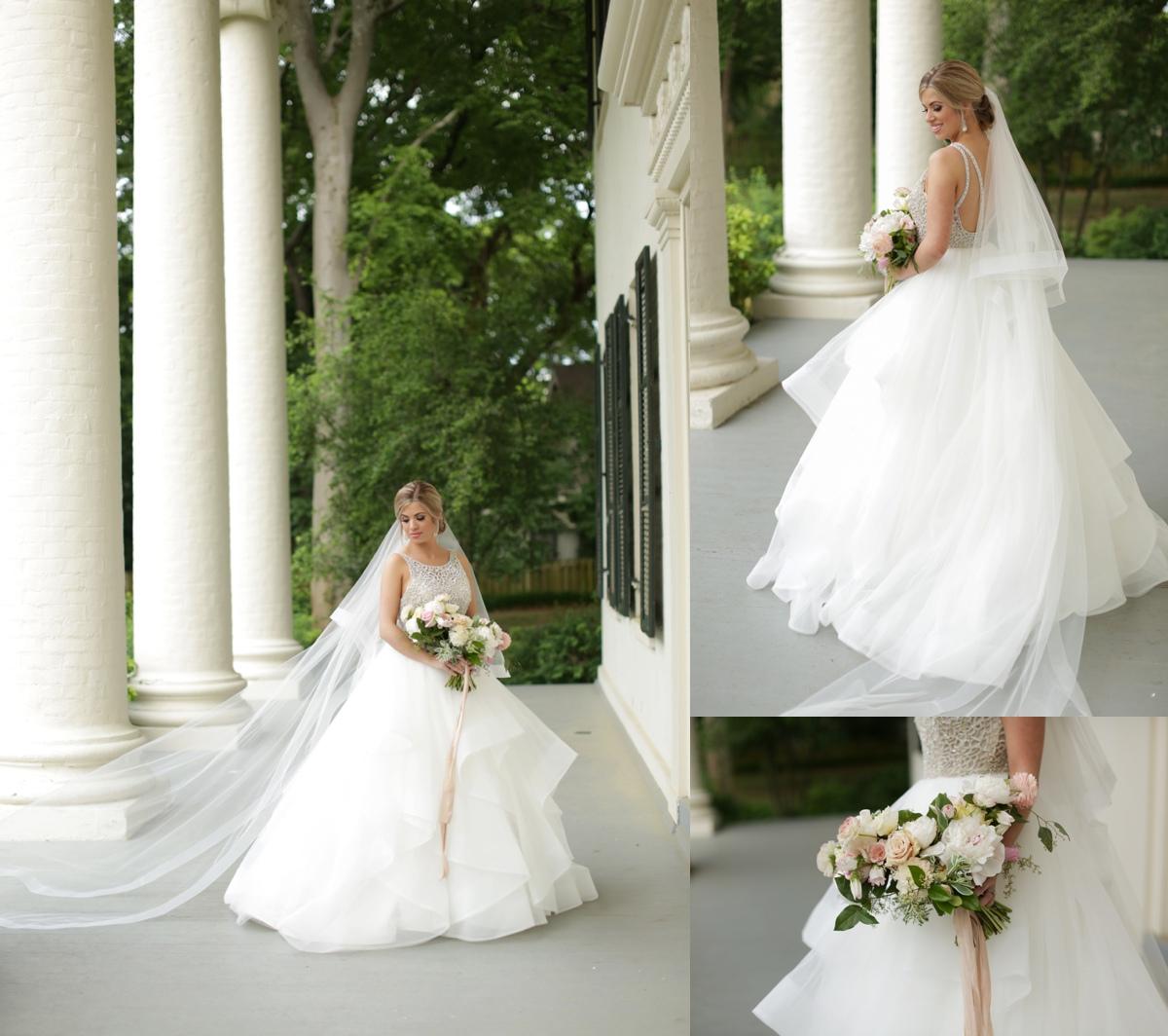 Lauren Terry House Bridal Portraits Conway Wedding