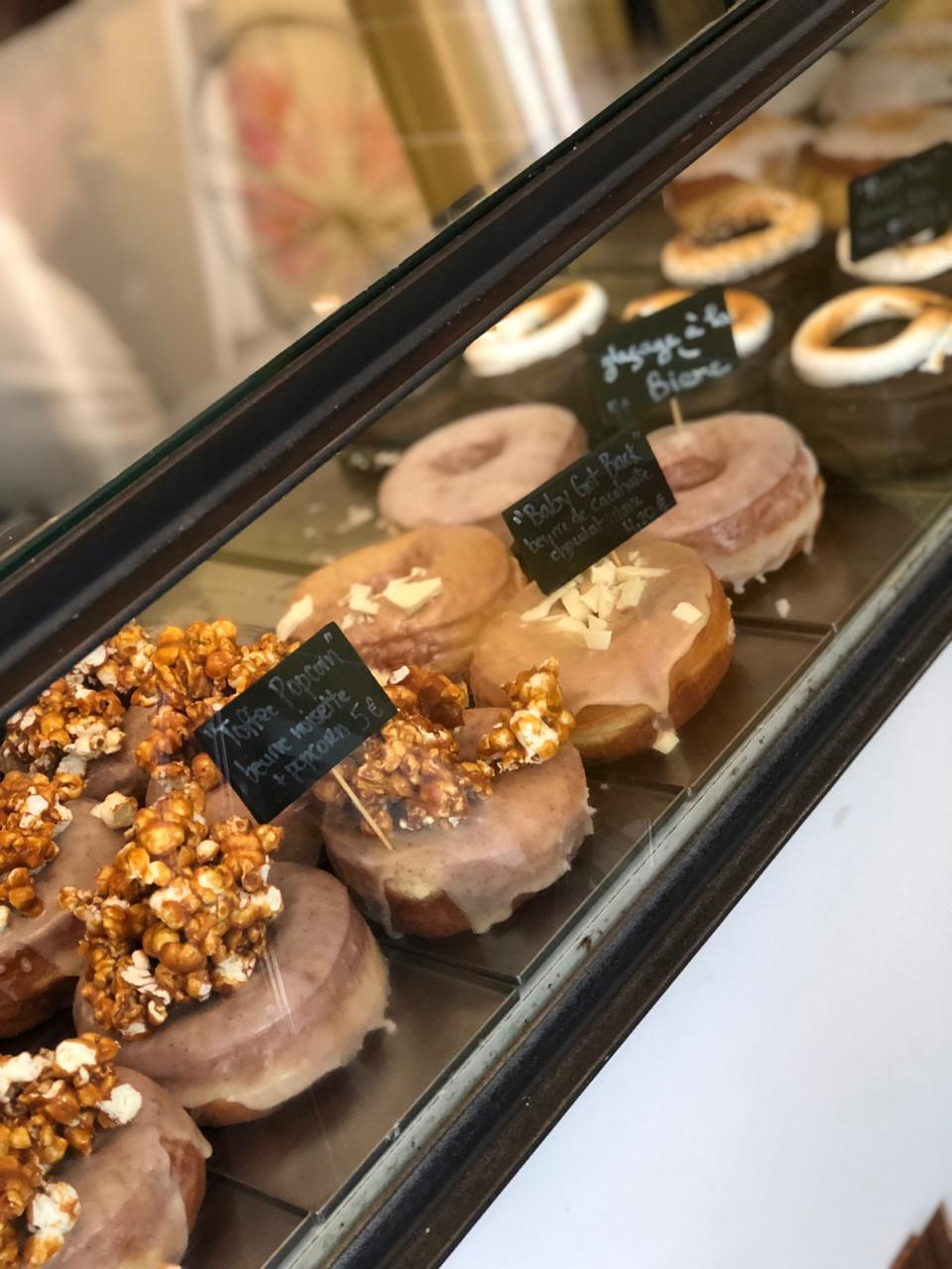 Donuts bij Boneshaker Doughnuts Paris