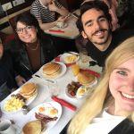 Groepsfoto Breakfast in America