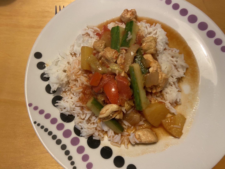 Recept review: kip in zoetzure saus