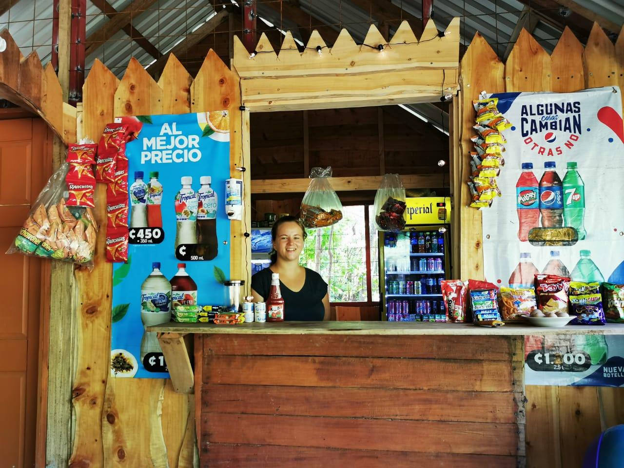 Buurtwinkel Costa Rica