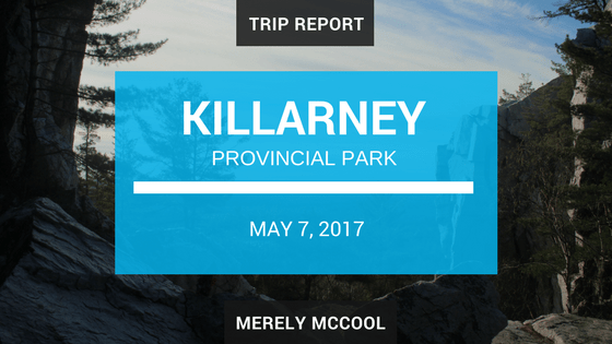 Trip Report: Killarney Provincial Park; The Crack Trail