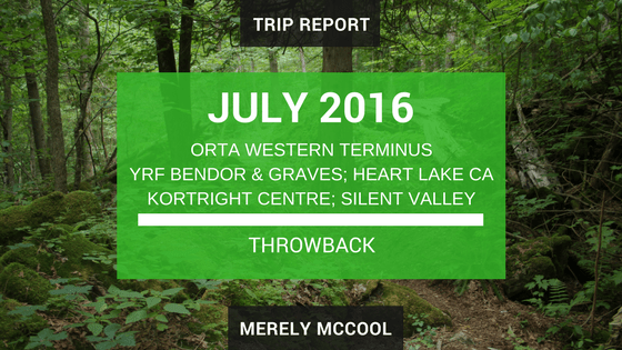 Throwback July 2016 Hikes