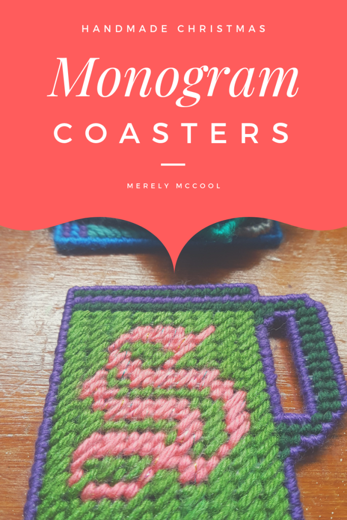 Homemade Gifts: Monogram Coasters - Merely McCool