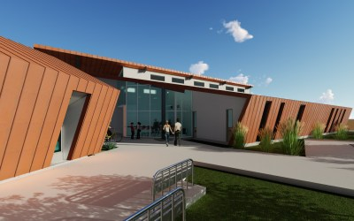 MCC College of Nursing and Business Incubator into construction