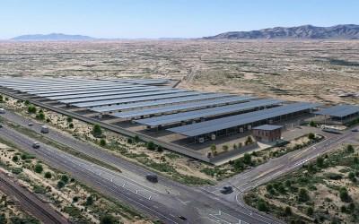 Wittmann new storage facility, Wittmann AZ