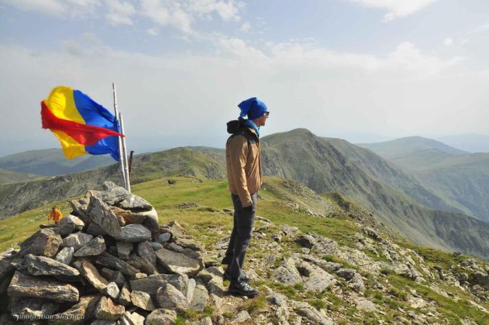 Pe Varful Iezerul Mare(2463m)