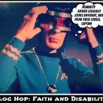 Faith and Disability: Summer Disability Blog Hop: July 5- July 19