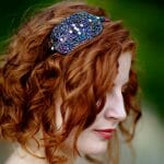 """""""Moxie"""" Art Deco Triple Circle Sequin and Beaded Headband: Giveaway!"""